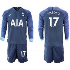 Tottenham Hotspur 2018/19 #17 Moussa Sissoko Away Long Sleeve Jersey