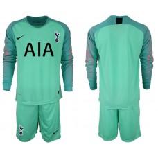Tottenham Hotspur 2018/19 Green Goalkeeper Long Sleeve Jersey