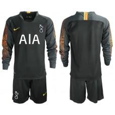 Tottenham Hotspur 2018/19 Black Long Sleeve Goalkeeper Jersey