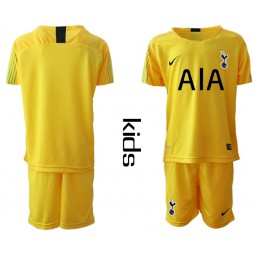 Youth - Tottenham Hotspur 2018/19 Yellow Goalkeeper Jersey