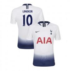 Tottenham Hotspur 2018/19 Home Retired #10 Gary Lineker White Authentic Jersey
