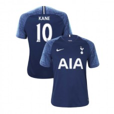 Tottenham Hotspur 2018/19 Away Replica #10 Harry Kane Navy Authentic Jersey