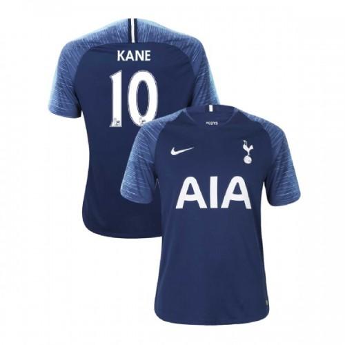 Tottenham Hotspur 2018/19 Away Replica #10 Harry Kane Navy Authentic Jersey
