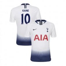 Tottenham Hotspur 2018/19 Home Replica #10 Harry Kane White Authentic Jersey