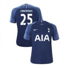 Tottenham Hotspur 2018/19 Away Replica #25 Josh Onomah Navy Authentic Jersey