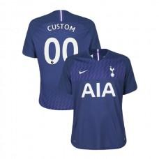 Tottenham Hotspur 2019/20 #00 Custom Navy Away Authentic Jersey