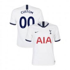 Tottenham Hotspur 2019/20 #00 Custom White Home Authentic Jersey