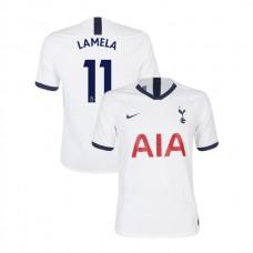 Tottenham Hotspur 2019/20 #11 Erik Lamela White Home Authentic Jersey