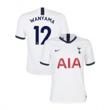 Tottenham Hotspur 2019/20 #12 Victor Wanyama White Home Authentic Jersey