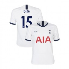 Tottenham Hotspur 2019/20 #15 Eric Dier White Home Authentic Jersey