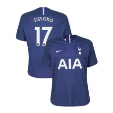 Tottenham Hotspur 2019/20 #17 Moussa Sissoko Navy Away Authentic Jersey