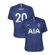 Tottenham Hotspur 2019/20 #20 Dele Alli Navy Away Authentic Jersey