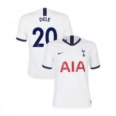 Tottenham Hotspur 2019/20 #20 Dele Alli White Home Authentic Jersey