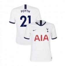 Tottenham Hotspur 2019/20 #21 Juan Foyth White Home Authentic Jersey