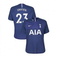 Tottenham Hotspur 2019/20 #23 Christian Eriksen Navy Away Authentic Jersey
