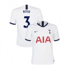 Tottenham Hotspur 2019/20 #3 Danny Rose White Home Authentic Jersey