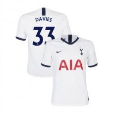 Tottenham Hotspur 2019/20 #33 Ben Davies White Home Authentic Jersey