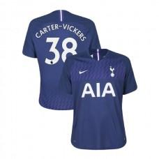 Tottenham Hotspur 2019/20 #38 Cameron Carter-Vickers Navy Away Authentic Jersey