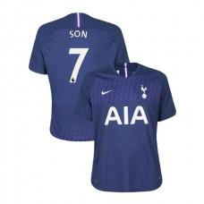 Tottenham Hotspur 2019/20 #7 Son Heung-min Navy Away Authentic Jersey