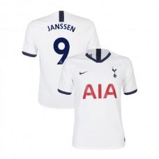 Tottenham Hotspur 2019/20 #9 Vincent Janssen White Home Authentic Jersey