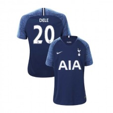 YOUTH - Tottenham Hotspur 2018/19 Away #20 Dele Alli Navy Authentic Jersey