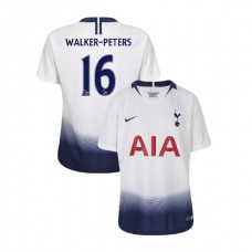 YOUTH - Tottenham Hotspur 2018/19 Home #16 Kyle Walker-Peters White Authentic Jersey