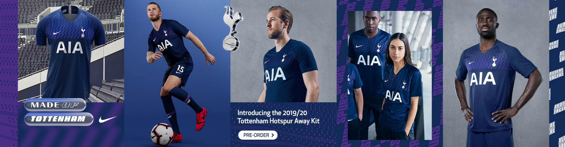 Tottenham Hotspur 2019/20 Away 3rd Wear Shop